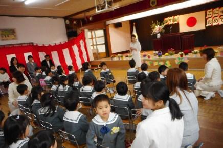 4月10日(水) 入園式