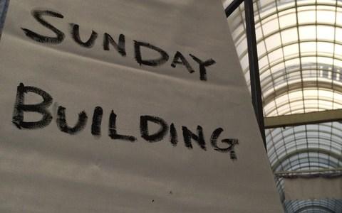 柳ヶ瀬の「SUNDAY BUILDING MARKET(サンデービルヂングマーケット)」に行ってきた