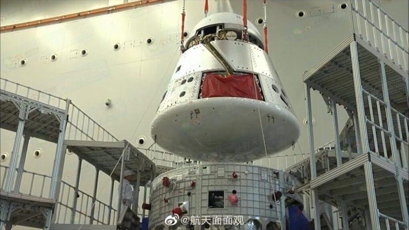 Китай испытал пилотируемый космический корабль нового поколения