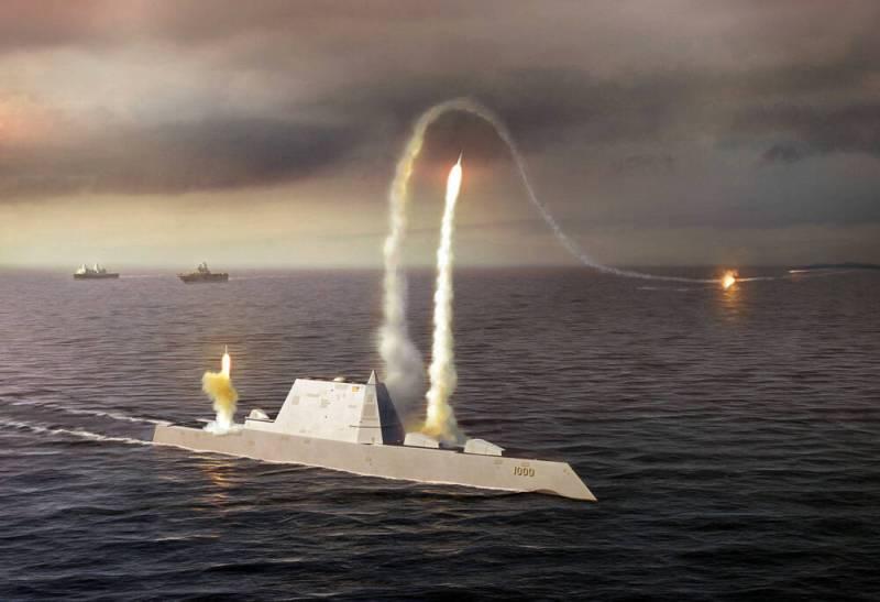 Эсминцы Zumwalt хотят вооружить гиперзвуковыми ракетами