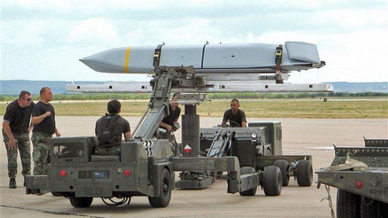 Истребитель F-15E загрузили рекордным числом крылатых ракет JASSM