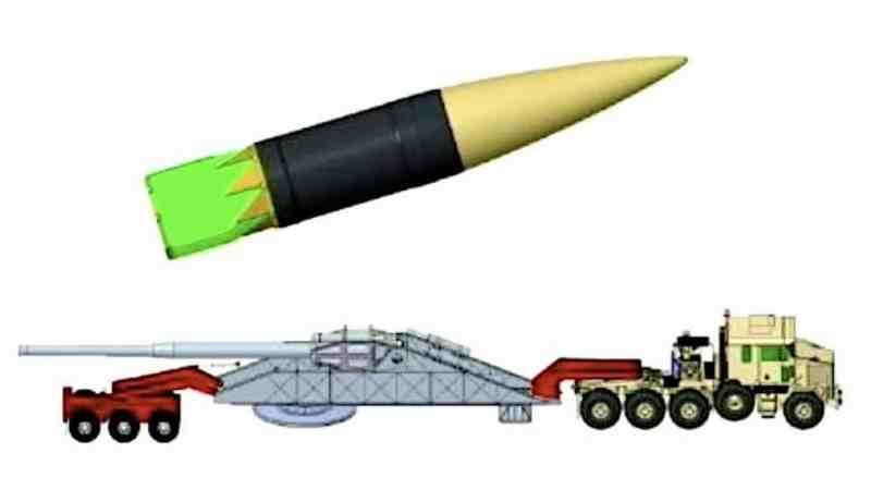 США отказались от проекта сверхмощного орудия, способного стрелять на 2000 километров