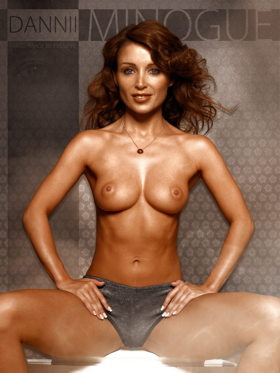 danni minogue naked images