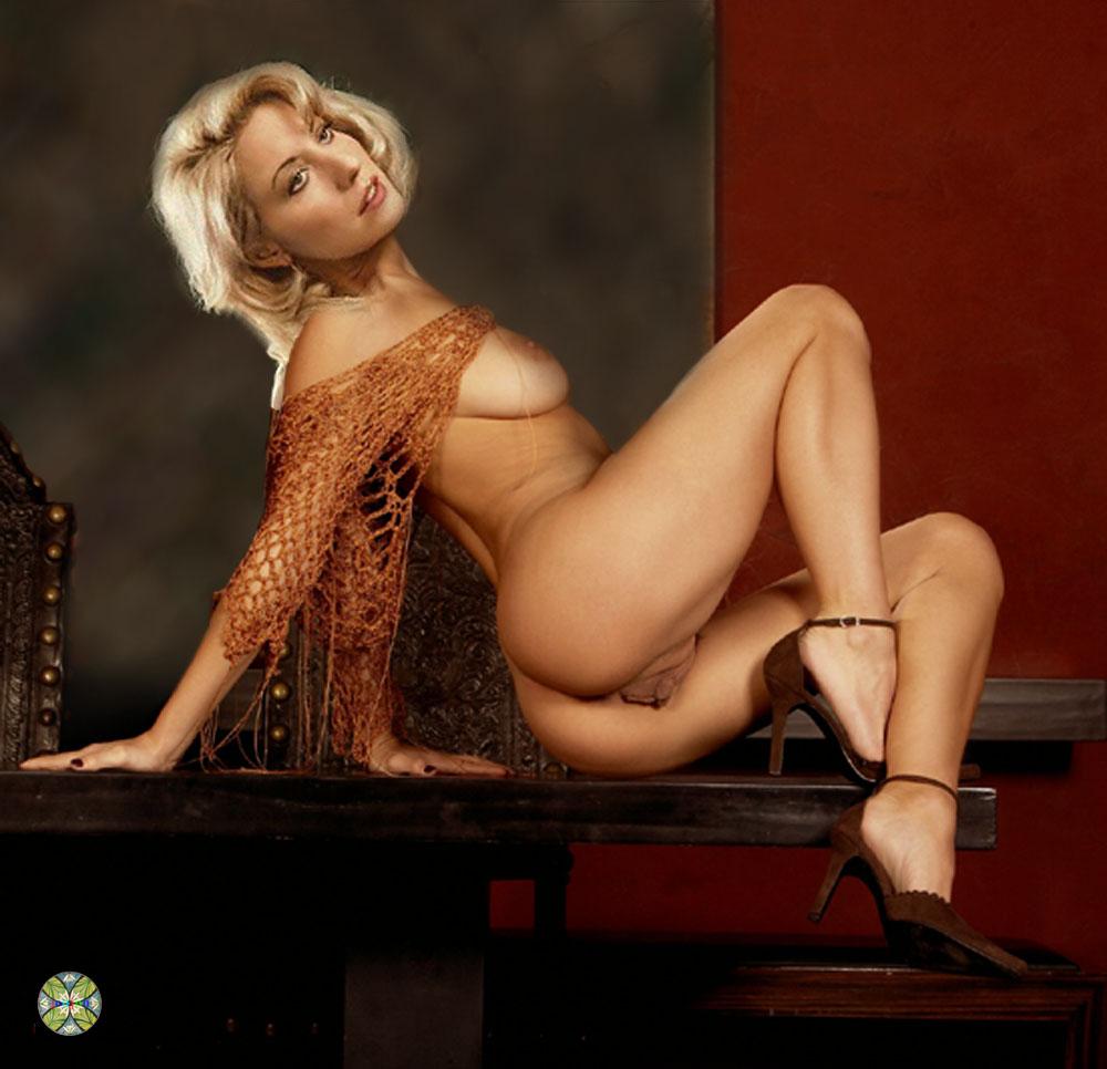 linda d nude