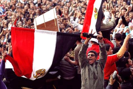 Egyptian revolutionaries didn't just topple Mubarak: They created a power vacuum in North Africa, that was completed by the fall and  killing of Gaddafi.