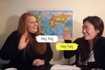 [덴마크어 배우기] 5강 실습: 인사
