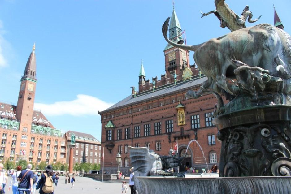 코펜하겐 시청 전경(사진: 조혜림)