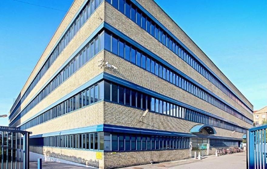 싱귤래리티대학교 덴마크가 들어설 코펜하겐사이언스시티 내 이노베이션허브 건물 (싱귤래리티대 제공)