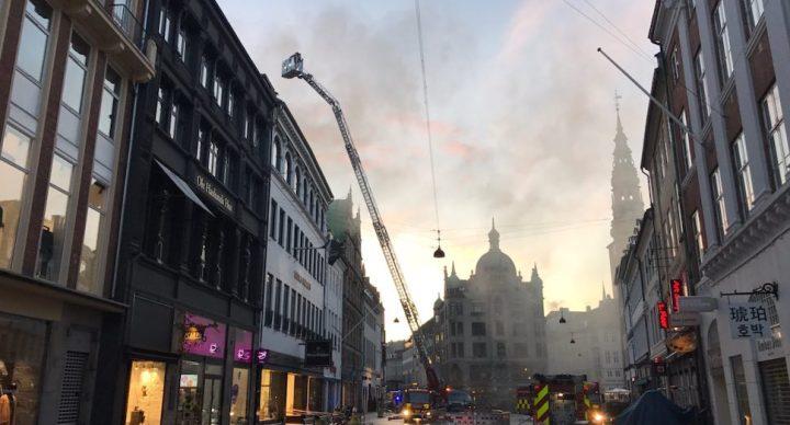 코펜하겐 명소 일룸 볼리그후스, 화재로 수십억원 피해