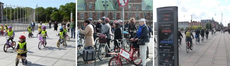자전거 타는 코펜하겐 시민(덴마크 자전거타기대사관 제공)