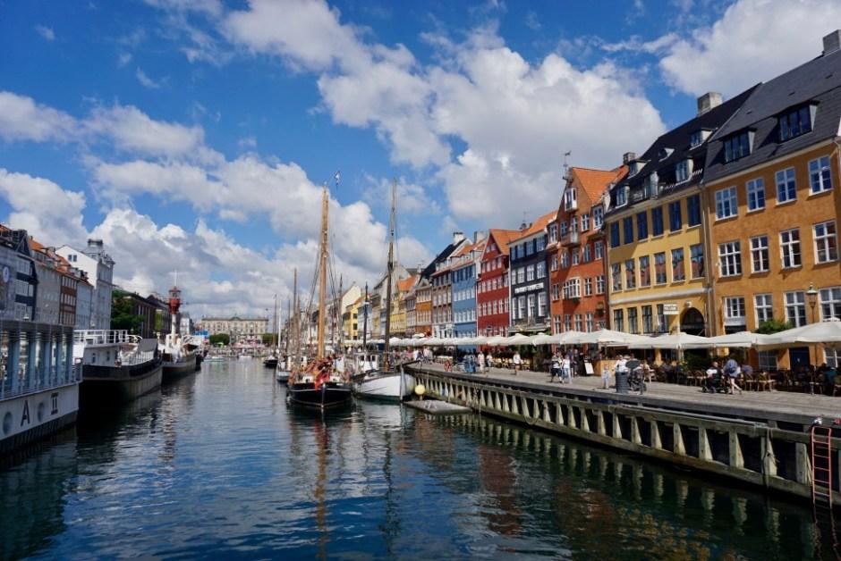 코펜하겐 대표 관광지 뉘하운 (촬영: 안상욱)