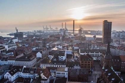 덴마크 2대 도시 오르후스 전경(VisitAarhus 제공, Thomas-Noerremark 촬영)