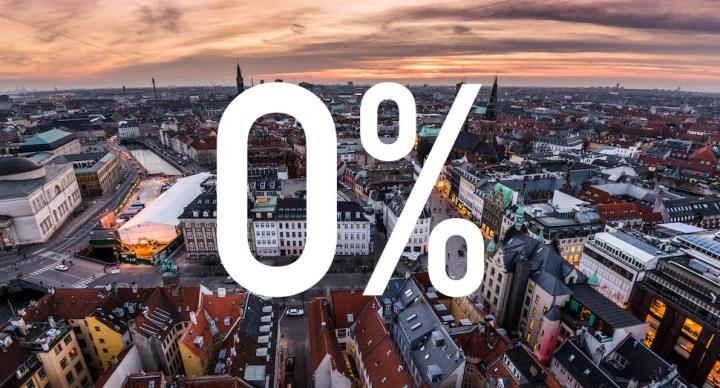 덴마크 금융업체, 10년 이자 0% 주택담보대출 출시
