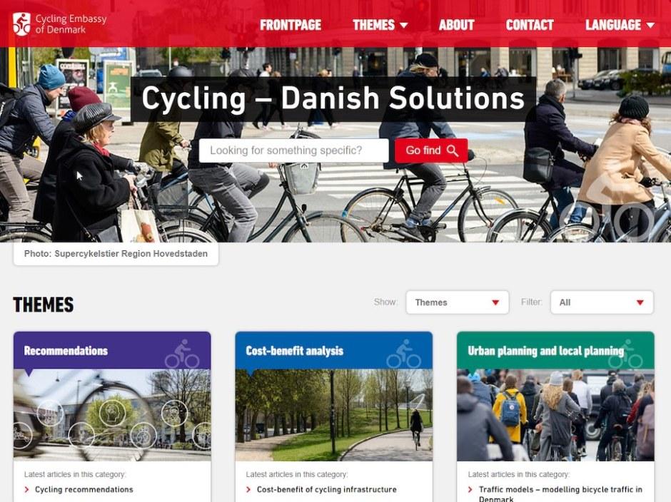 덴마크 자전거대사관(CED)은 국제사이클연맹(UCI)과 손잡고 2019년 6월24일 공개한 온라인 자전거 지식 공유 플랫폼 자전거 타기: 덴마크식 해법(Cycling - Danish Solutions)
