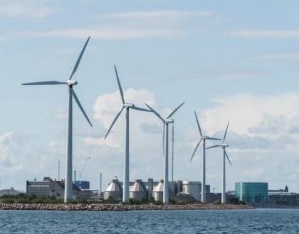 덴마크 코펜하겐 인근 풍력발전단지 (안상욱 촬영)
