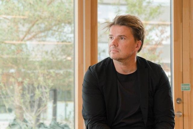 2019년 10월4일 코펜힐(CopenHill) 개관 외신기자간담회에 참석한 비야케 잉겔스(Bjarke Ingels) BIG 대표 건축가겸 파트너 (사진: 안상욱)
