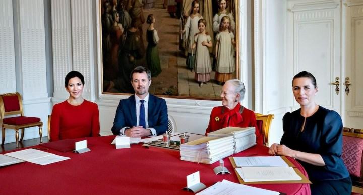덴마크 왕실, 마리 왕세자비 섭정으로 임명