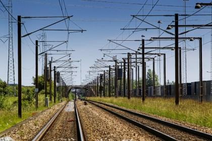 덴마크 전기 철로 (Banedanmark 제공)