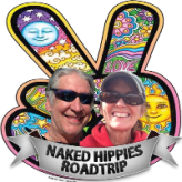 Naked Hippies Roadtrip Bruce and Trisha