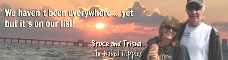 The Naked Hippies Way is a life of travel