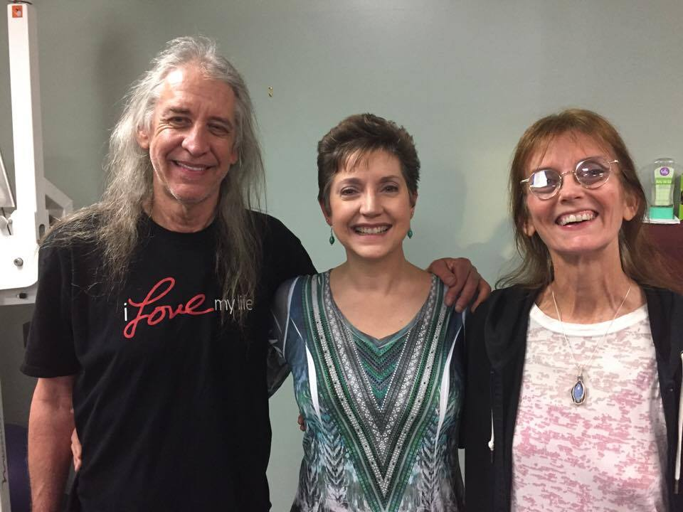 PSYCH-K trainer Karen McKy with The Naked Hippies