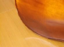 framus cello 16 repaired finish on back