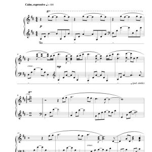 """Sorella"" Solo Piano Sheet Music (from The Naked Piano)"