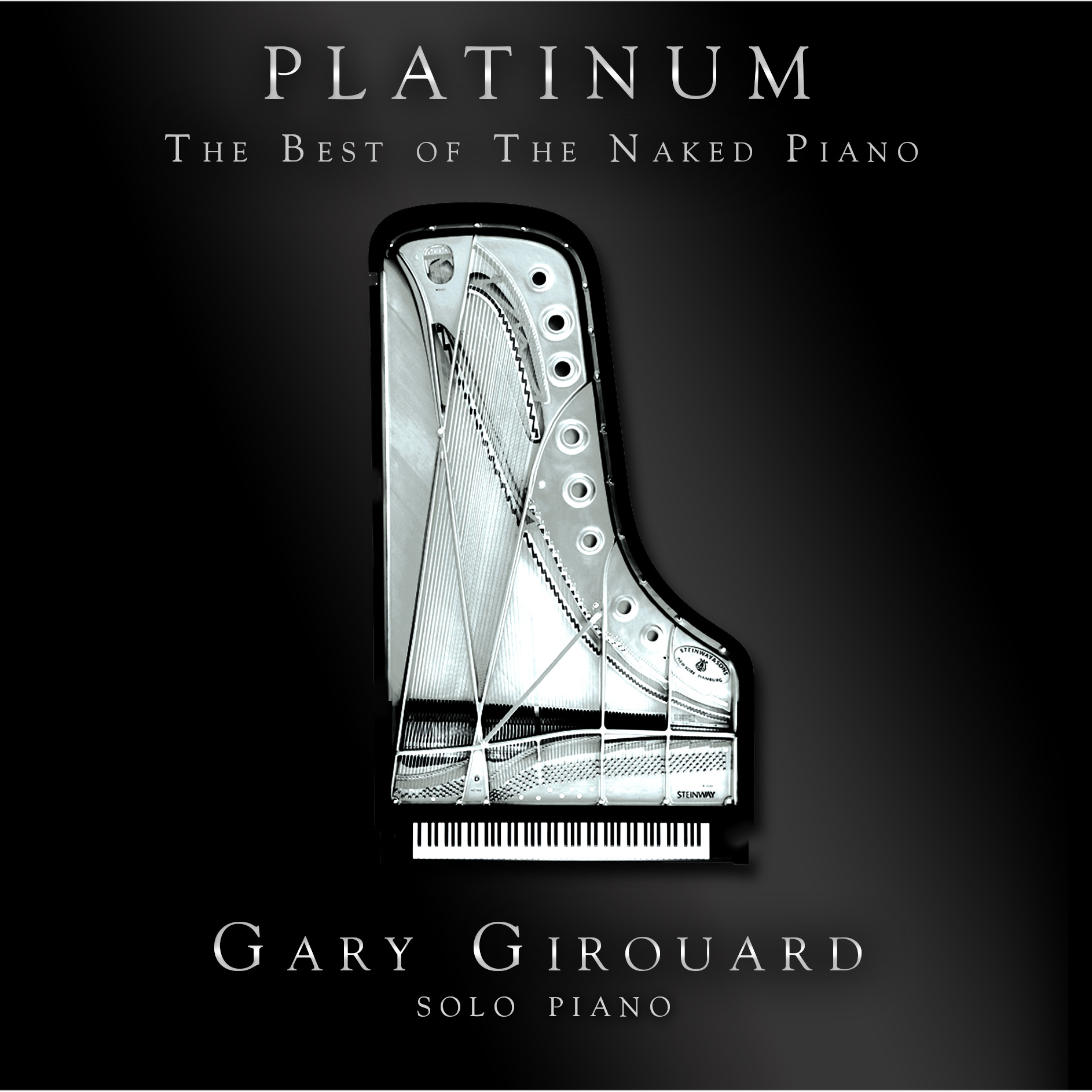 Platinum - The Best of The Naked Piano (Physical Songbook/Sheet Music -  Includes Physical copy + PDF)