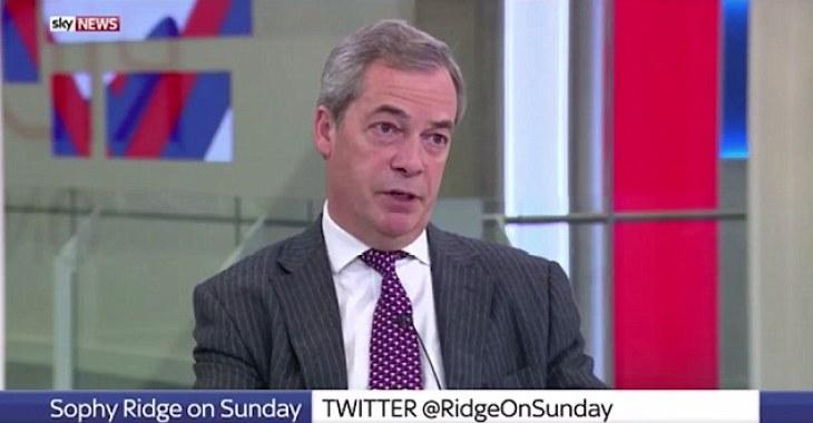 Farage on Sky