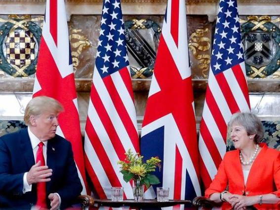 US-UK-relations-trump-may