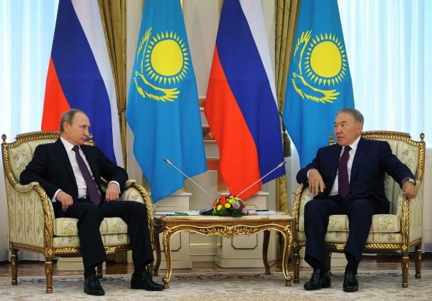Nazarbayev-Putin-Meeting