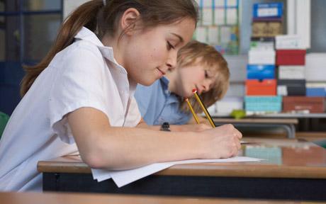 SAT-child-exam
