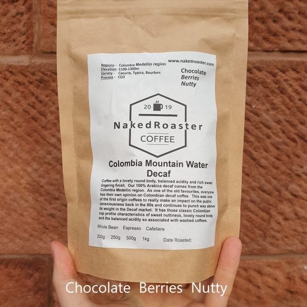 Colombia mountain water Decaf coffee