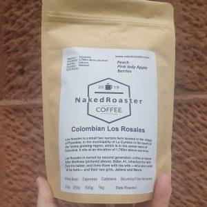 Naked Roaster Los Rosales Coffee
