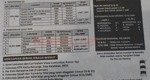 Lowongan PJB Service Aceh Arun