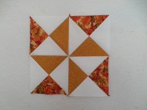 Hourglass quilt blocks from Nakeytoes Quilting