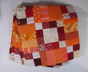 Good Fortune completed B blocks by Nakeytoes Quilting