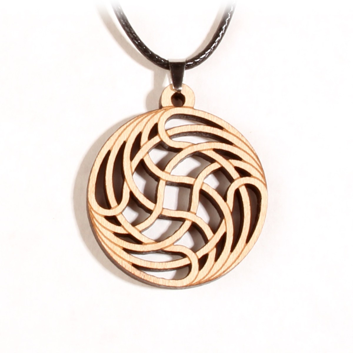 Fortuknot Pendant - Naked Geometry