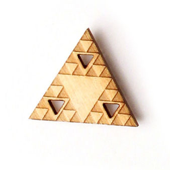 sierpinski triangle pin