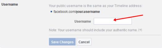 كيفية تغيير اسم المستخدم في صفحة الفيسبوك الشخصية أو العامة