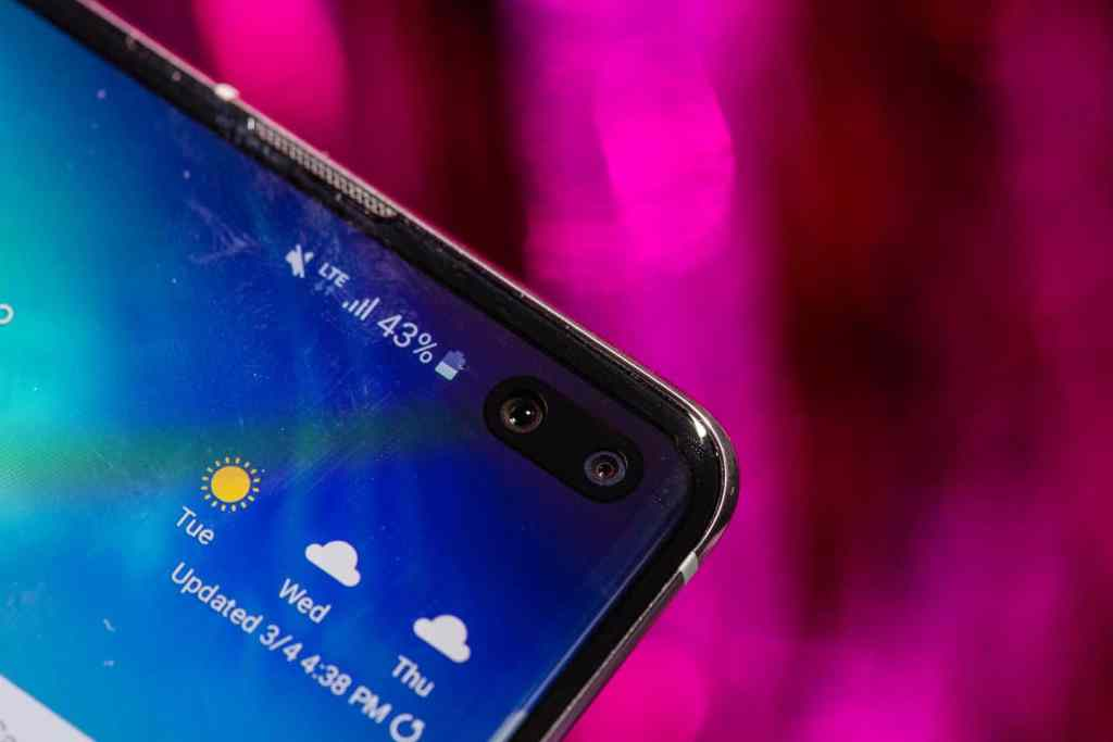 s10 front camera