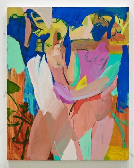 "Sarah Awad, ""Untitled (Two Nudes),"" 2014, photo courtesy Garis & Hahn, New York."