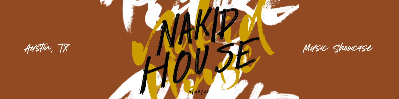 NAKID HOUSE 2020 ad banner