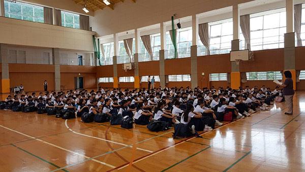 那珂川北中学校・平成27年度 自然教室事前指導