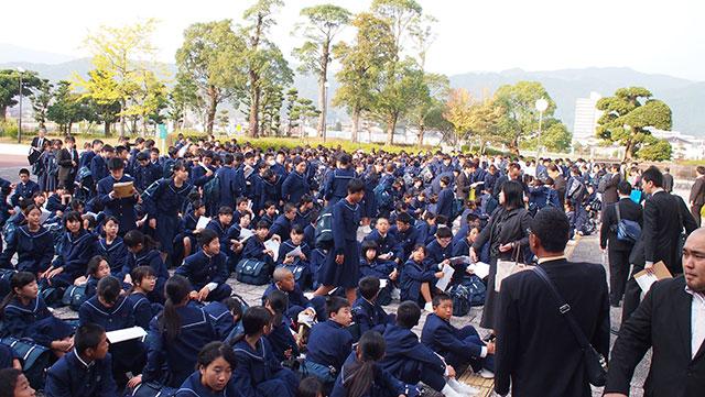 那珂川北中学校・文化祭