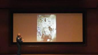 那珂川北中、福岡女学院での宇宙飛行士の講演に参加
