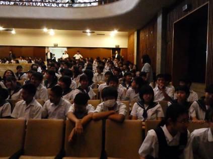 那珂川北中学校・福岡女学院での講演に参加