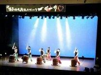 那珂川北中学校 そよかぜフェスタ出演 創作太鼓のぼせもん