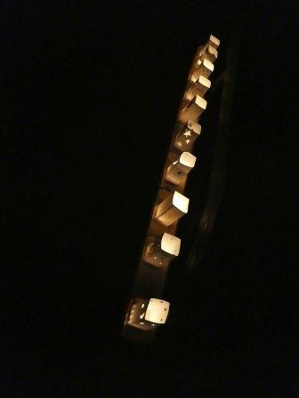 竹の里フェスタ 裂田溝ライトアップ