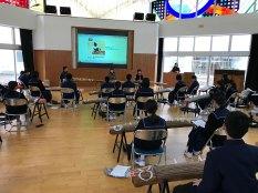 那珂川北中学校 筝の学習